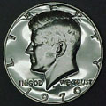 1970-S Gem Proof Kennedy Half Dollar Singles