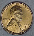 1938-D CH BU Lincoln Cent Singles