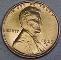 1939-D CH BU Lincoln Cent Singles