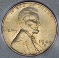 1940-D CH BU Lincoln Cent Singles