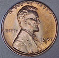 1947-D CH BU Lincoln Cent Singles