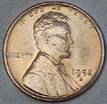 1952-D CH BU Lincoln Cent Singles