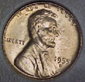 1955-D CH BU Lincoln Cent Singles