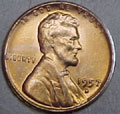 1957-D CH BU Lincoln Cent Singles