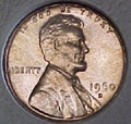 1960-D S.D. CH BU Lincoln Cent Singles