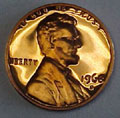 1968-S Gem Proof Lincoln Cent Singles