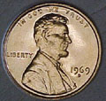 1969-D CH BU Lincoln Cent Singles