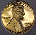 1974-S Gem Proof Lincoln Cent Singles
