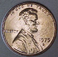 1975-D CH BU Lincoln Cent Singles