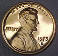 1975-S Gem Proof Lincoln Cent Singles