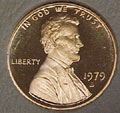 1979-S TY 1 Gem Proof Lincoln Cent Singles
