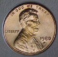 1980-D CH BU Lincoln Cent Singles