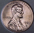 1985-D CH BU Lincoln Cent Singles