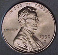 1990-D CH BU Lincoln Cent Singles