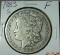 1883 S Morgan Dollar in Fine Condition