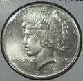 1926 Peace Dollar in MS62 Condition