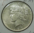 1927 D Peace Dollar in XF Condition