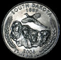 2006-D SD South Dakota CH BU Statehood Quarter Singles