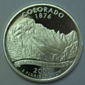 2006-S CO Colorado 90% Silver Gem Proof Statehood Singles