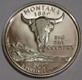 2007-S MT Montana Gem Proof Statehood Quarter Singles