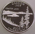 2005-S OR  Oregon Gem Proof Statehood Quarter Singles