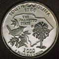2000-S SC  South Carolina Gem Proof Statehood Quarter Singles