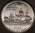 2000-S VA  Virginia Gem Proof Statehood Quarter Singles