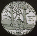 2001-S VT  Vermont Gem Proof Statehood Quarter Singles