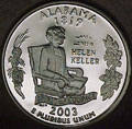 2003-S AL  Alabama Gem Proof Statehood Quarter Singles