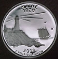 2003-S ME  Maine 90% Silver Gem Proof Statehood Quarter Singles