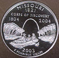 2003-S MO  Missouri 90% Silver Gem Proof Statehood Singles