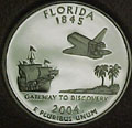 2004-S FL Florida Gem Proof Statehood Quarter Singles