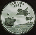2004-S FL Florida 90% Silver Gem Proof Statehood Singles