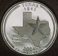 2004-S TX Texas Gem Proof Statehood Quarter Singles
