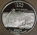 2004-S IA  Iowa Gem Proof Statehood Quarter Singles