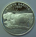 2006-S ND North Dakota 90% Silver Gem Proof Statehood Singles