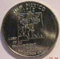 2008-D NM New Mexico CH BU Statehood Quarter Singles