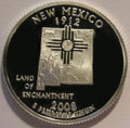 2008-S NM New Mexico 90% Silver Gem Proof Statehood Quarters