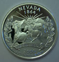 2006-S NV Nevada 90% Silver Gem Proof Statehood Singles