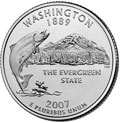 2007-P WA Washington CH BU Statehood Quarter Singles