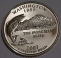 2007-S WA Washington Gem Proof Statehood Quarter Singles