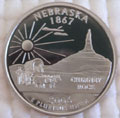 2006-S NE Nebraska Gem Proof Statehood Quarter Singles
