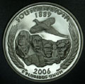 2006-S SD South Dakota Gem Proof Statehood Quarter Singles