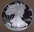 2005 Gem Proof Silver Eagle Dollar Singles