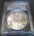 2002 American Silver Eagle PCGS MS69 First Strike FS