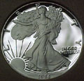 1986 Gem Proof Silver Eagle Dollar Singles