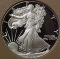 1987 Gem Proof Silver Eagle Dollar Singles