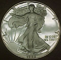 1988 Gem Proof Silver Eagle Dollar Singles