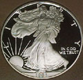 1991 Gem Proof Silver Eagle Dollar Singles