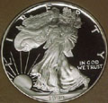 1994 Gem Proof Silver Eagle Dollar Singles